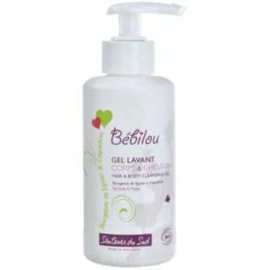 organic washing gel body & hair  effectively and gently cleanses your baby's delicate skin and hair