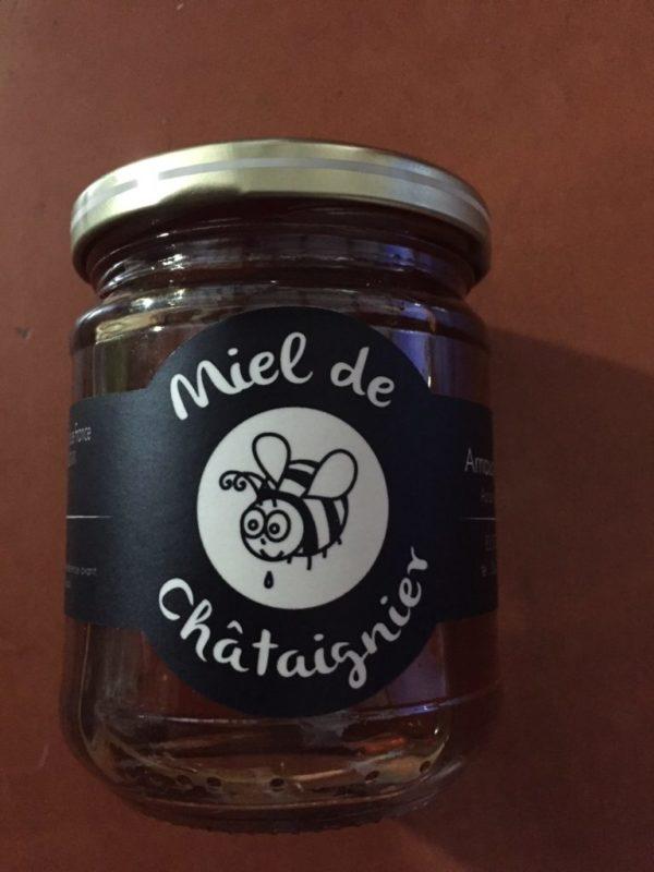 Miel de Provence bio chataigner