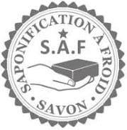 Logo saponifié à froid