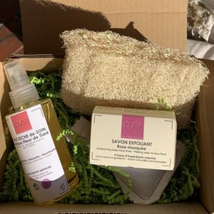 Gift Box Body peeling and care