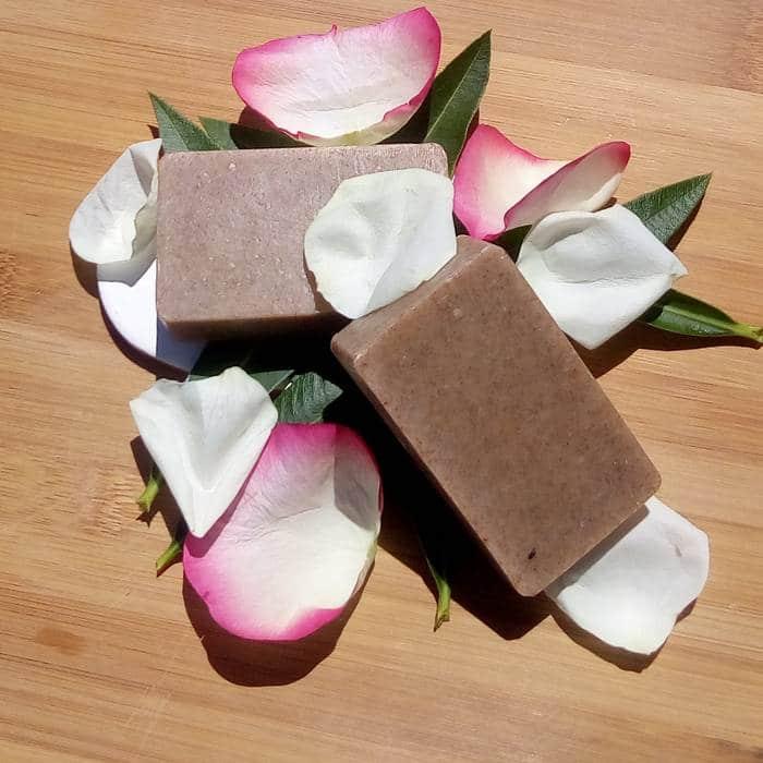 savon exfoliant bio saponifié à froid