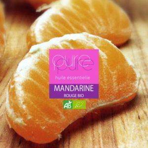 La mandarine rouge fournit une huile essentielle relaxante